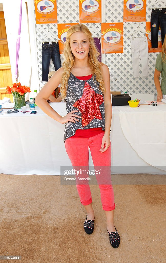 Caroline Sunshine attends 6th Annual Kidstock Music And Arts Festival Sponsored By Hudson Jeans at Greystone Mansion on June 3, 2012 in Beverly Hills, California.