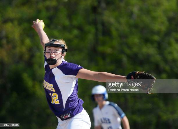 Caroline Taylor of Cheverus pitches against Westbrook Friday May 19 2017