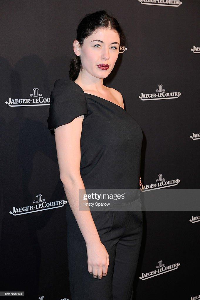 Caroline Tillette attends the Jaeger-LeCoultre Place Vendome Boutique Opening at Jaeger-LeCoultre Boutique on November 20, 2012 in Paris.