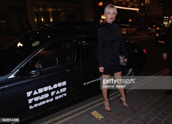 Caroline Vreeland arrives in style in the BMW 7 Series at Fund Fair event in aid of supermodel Natalia Vodianovas charity the Naked Heart Foundation...