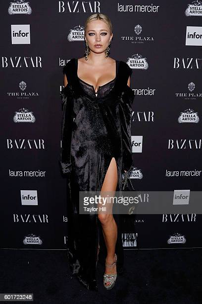 Caroline Vreeland attends the 2016 Harper ICONS Party at The Plaza Hotel on September 9 2016 in New York City