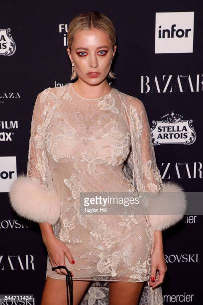 Caroline Vreeland attends the 2017 Harper ICONS party at The Plaza Hotel on September 8 2017 in New York City