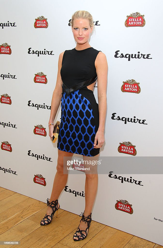 Caroline Winberg attends Esquire magazine's summer party at Somerset House on May 29, 2013 in London, England.