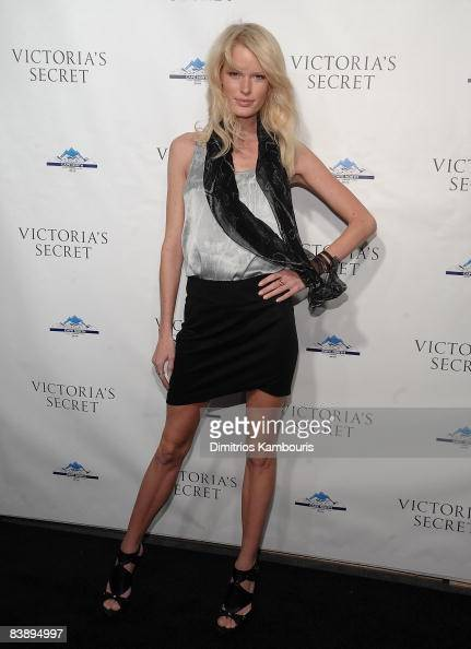 Caroline Winberg attends the grand opening celebration for the new Victoria's Secret Lexington Avenue flagship store on December 2 2008 in New York...