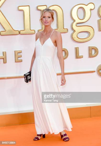 Caroline Winberg attends the 'Kingsman The Golden Circle' World Premiere at Odeon Leicester Square on September 18 2017 in London England