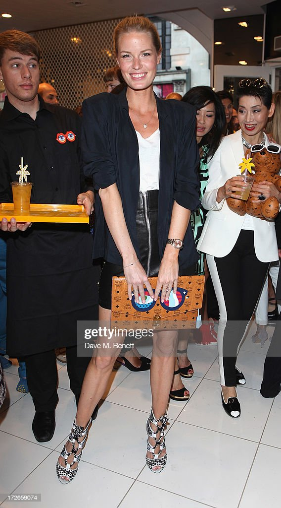 Caroline Winberg attends the MCM Craig And Karl Launch Event on July 4, 2013 in London, England.
