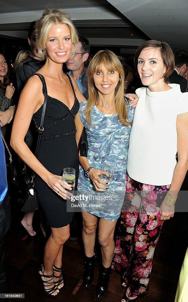 <a gi-track='captionPersonalityLinkClicked' href=/galleries/search?phrase=Caroline+Winberg&family=editorial&specificpeople=857116 ng-click='$event.stopPropagation()'>Caroline Winberg</a>, Henrietta Conrad and Alex Mahon attend the Sky Living rebrand dinner at the Greenhouse Restaurant on September 26, 2013 in London, England.