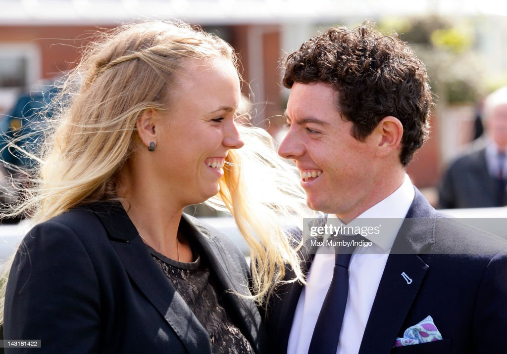 <a gi-track='captionPersonalityLinkClicked' href=/galleries/search?phrase=Caroline+Wozniacki&family=editorial&specificpeople=740679 ng-click='$event.stopPropagation()'>Caroline Wozniacki</a> and <a gi-track='captionPersonalityLinkClicked' href=/galleries/search?phrase=Rory+McIlroy&family=editorial&specificpeople=783109 ng-click='$event.stopPropagation()'>Rory McIlroy</a> attend the Dubai Duty Free Race Day at Newbury Racecourse on April 20, 2012 in Newbury, England.