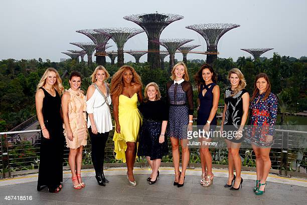 Caroline Wozniacki of Denmark Agnieszka Radwanska of Poland Petra Kvitova of Czech Republic Serena Williams of USA Stacey Allaster Chairman and CEO...