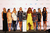 Caroline Wozniacki of Denmark Agnieszka Radwanska of Poland Petra Kvitova of Czech Republic Maria Sharapova of Russia Serena Williams of the...