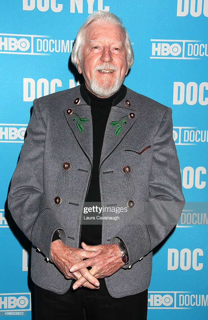 <a gi-track='captionPersonalityLinkClicked' href=/galleries/search?phrase=Caroll+Spinney&family=editorial&specificpeople=653956 ng-click='$event.stopPropagation()'>Caroll Spinney</a> attends 'I Am Big Bird' Screening - 2014 Doc NYC at SVA Theater on November 14, 2014 in New York City.