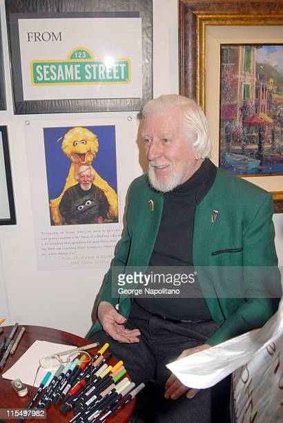 author artist and puppeteer who has played Big Bird and Oscar the Grouch on Sesame Street since 1969 at Artexpo at the Jacob Javits Center in New York