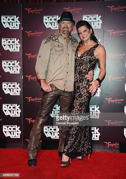 CarolLyn Liddle arrives at 'Raiding The Rock Vault' at its new venue The New Tropicana Las Vegas on November 7 2014 in Las Vegas Nevada