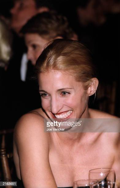Carolyn Bessette Kennedy laughs at the Grand Central Station Gala October 5 1998 in New York City Four years ago on July 16 John F Kennedy Jr his...