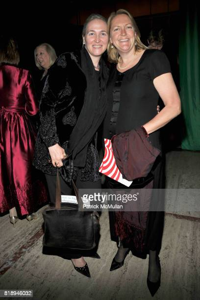 Carolyn Carlson and Liz Perl attend Literacy Partners Evening of Readings Gala at David H Koch Theater on May 10th 2010 in New York City