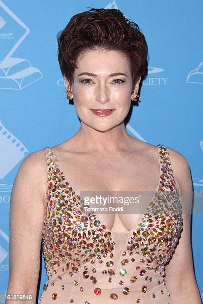 Carolyn Hennesy attends the 49th annual Cinema Audio Society Awards held at Millennium Biltmore Hotel on February 16 2013 in Los Angeles California