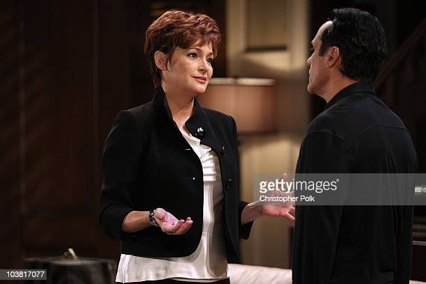 Carolyn Hennesy Maurice Benard in a scene that airs the week of September 20 2010 on ABC's GENERAL HOSPITAL