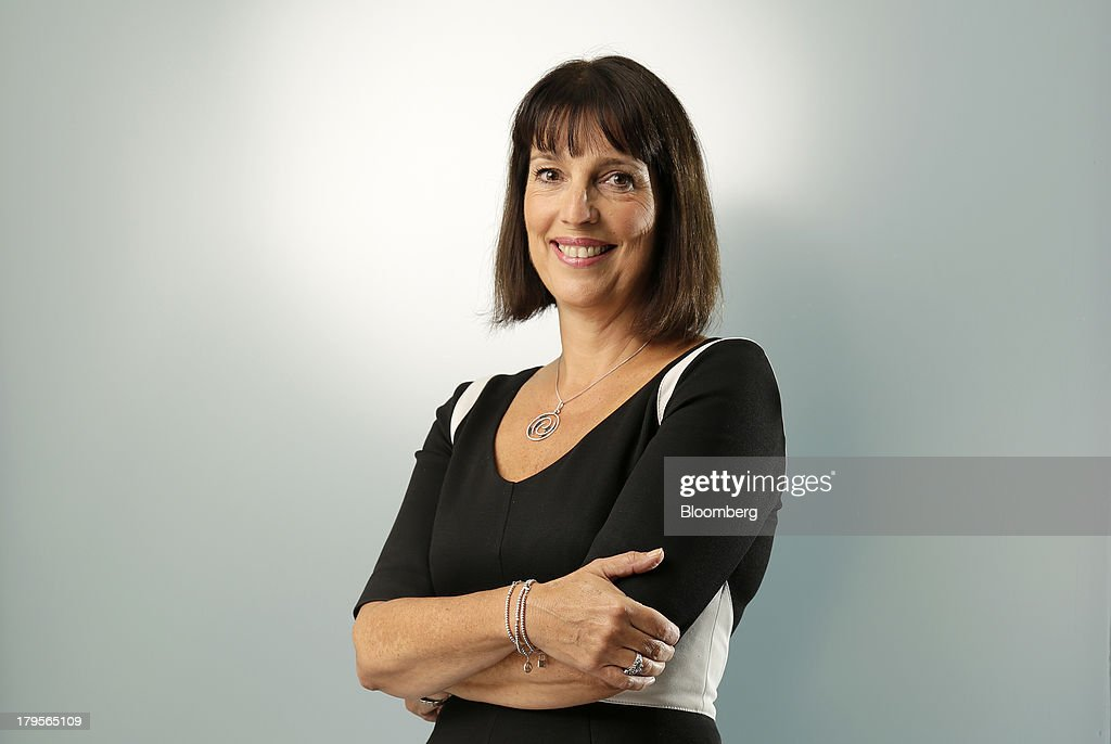 Carolyn McCall, chief executive officer of EasyJet Plc, poses for a photograph in London, U.K., on Thursday, Sept. 5, 2013. McCall has sought to multiply frequencies on services attractive to business clients while adding new routes from London to Moscow and between Milan and Rome Fiumicino airport. Photographer: Matthew Lloyd/Bloomberg via Getty Images