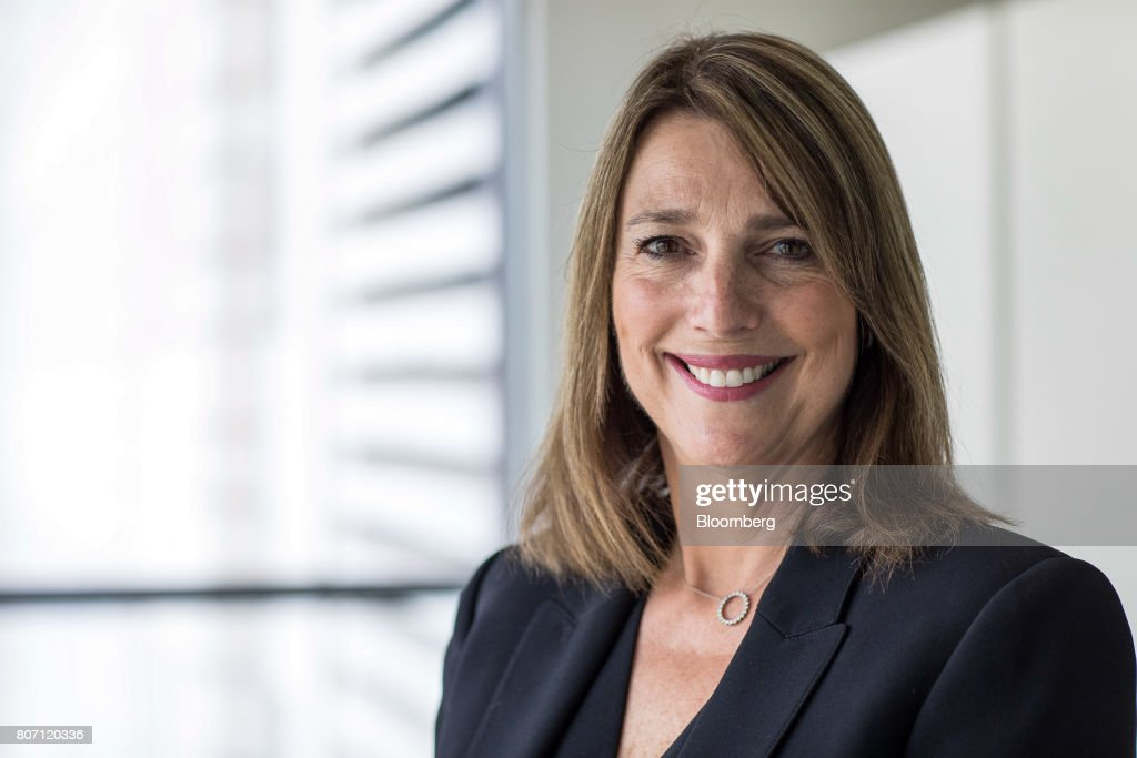 Carolyn McCall, chief executive officer of Easyjet Plc, poses for photograph following an interview in London, U.K., on Thursday, June 29, 2017. Shares in EasyJet, the second best performer among Europe's main airlines, jumped 32 percent. Photographer: David Levenson/Bloomberg via Getty Images