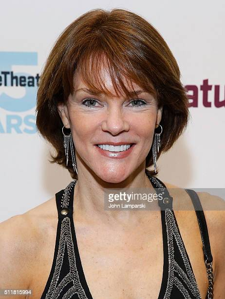 Carolyn McCormick attends 'Angel Reapers' opening night at Signature Theatre Companyâ Pershing Square Signature Center on February 22 2016 in New...