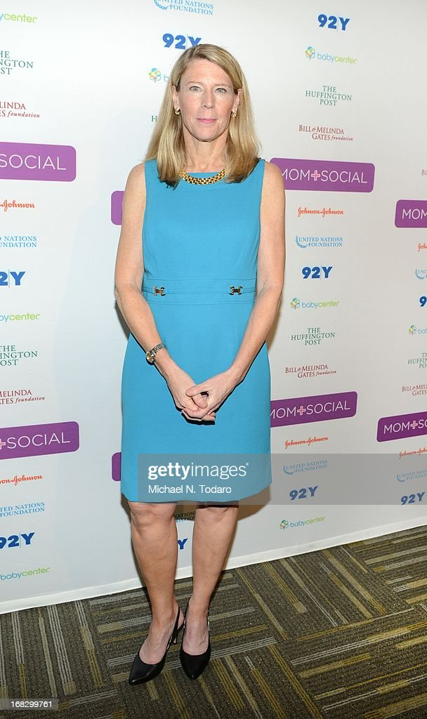Carolyn Miles attends the Mom + Social Event at 92Y Tribeca on May 8, 2013 in New York City.