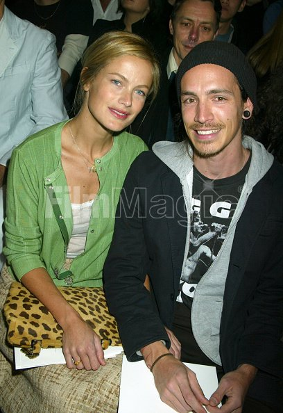 carolyn murphy and brandon boyd of incubus during olympus
