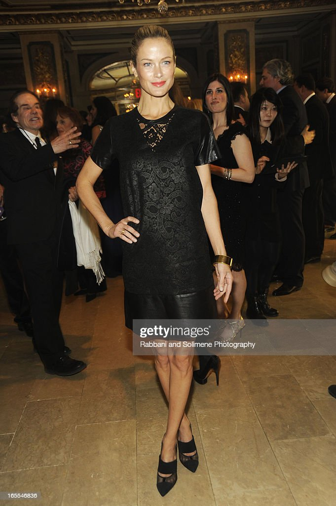 <a gi-track='captionPersonalityLinkClicked' href=/galleries/search?phrase=Carolyn+Murphy&family=editorial&specificpeople=211177 ng-click='$event.stopPropagation()'>Carolyn Murphy</a> attends the 2013 Henry Street Settlement Spring Gala Dinner Dance at The Plaza Hotel on April 4, 2013 in New York City.