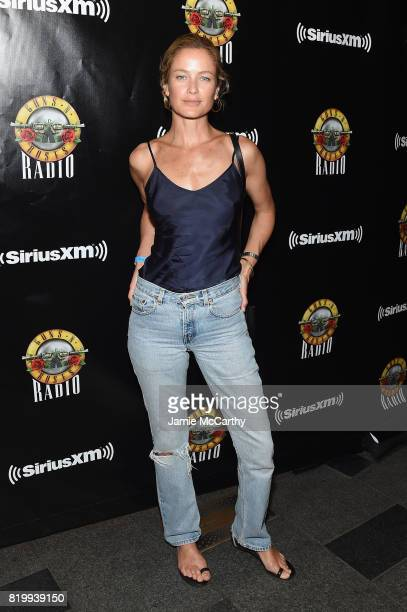Carolyn Murphy attends the SiriusXM's Private Show with Guns N' Roses at The Apollo Theater before band embarks on next leg of its North American...