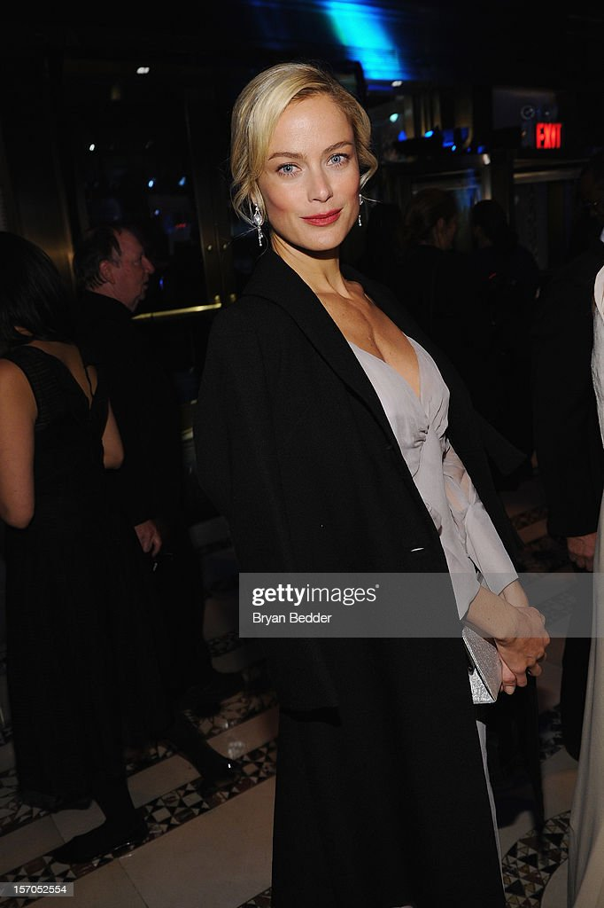 Carolyn Murphy attends the Unicef SnowFlake Ball at Cipriani 42nd Street on November 27, 2012 in New York City.