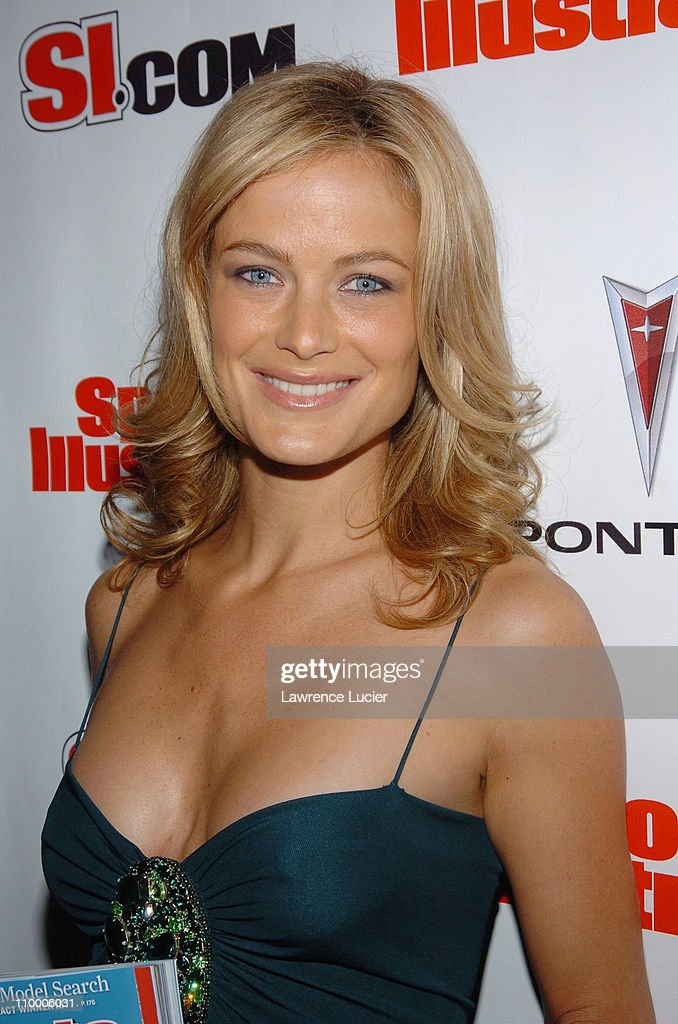 Carolyn Murphy during Sports Illustrated 2005 Swimsuit Issue - Press Conference at AER Lounge in New York City, New York, United States.