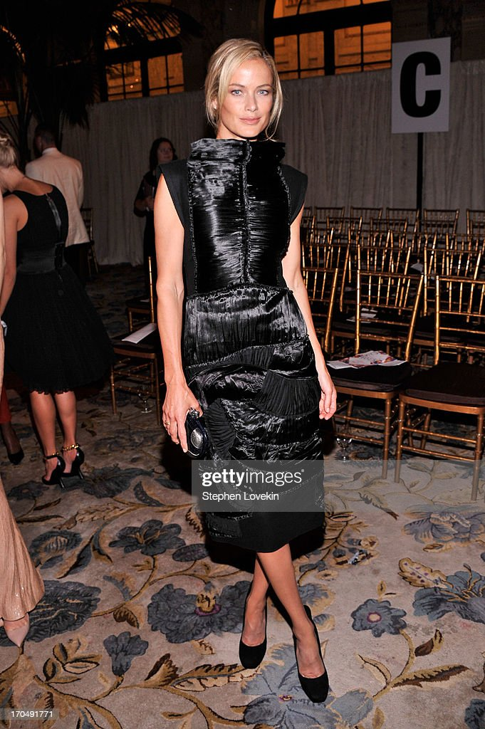 <a gi-track='captionPersonalityLinkClicked' href=/galleries/search?phrase=Carolyn+Murphy&family=editorial&specificpeople=211177 ng-click='$event.stopPropagation()'>Carolyn Murphy</a> watches the 4th Annual amfAR Inspiration Gala New York at The Plaza Hotel on June 13, 2013 in New York City.
