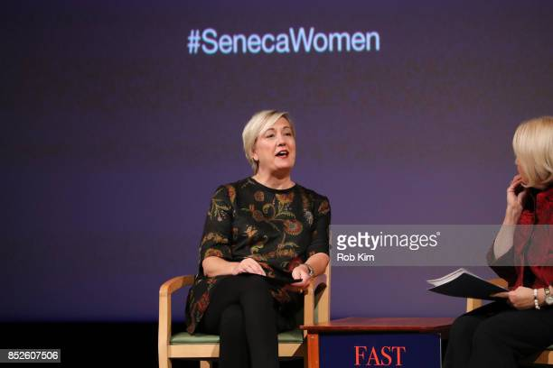 Carolyn Tastad Group President North America Procter Gamble attends Fast Forward Women's Innovation Forum at The Metropolitan Museum of Art on...