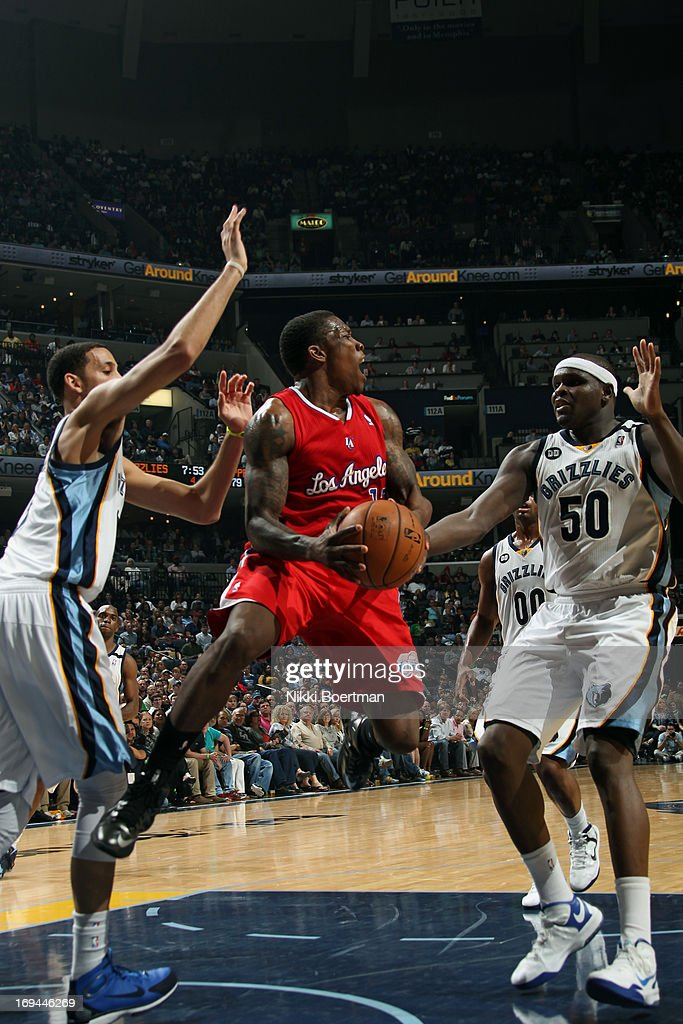 <a gi-track='captionPersonalityLinkClicked' href=/galleries/search?phrase=Caron+Butler&family=editorial&specificpeople=201744 ng-click='$event.stopPropagation()'>Caron Butler</a> #5 of the Los Angeles Clippers grabs the ball while looking to pass against the Memphis Grizzlies on April 13, 2013 at FedExForum in Memphis, Tennessee.