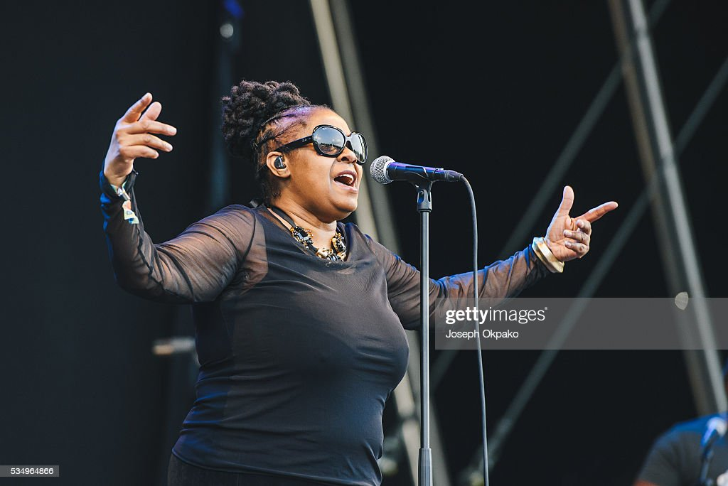 Caron Wheeler of Soul II Soul performs on day 1 of Common People festival on May 28, 2016 in Oxford, England.
