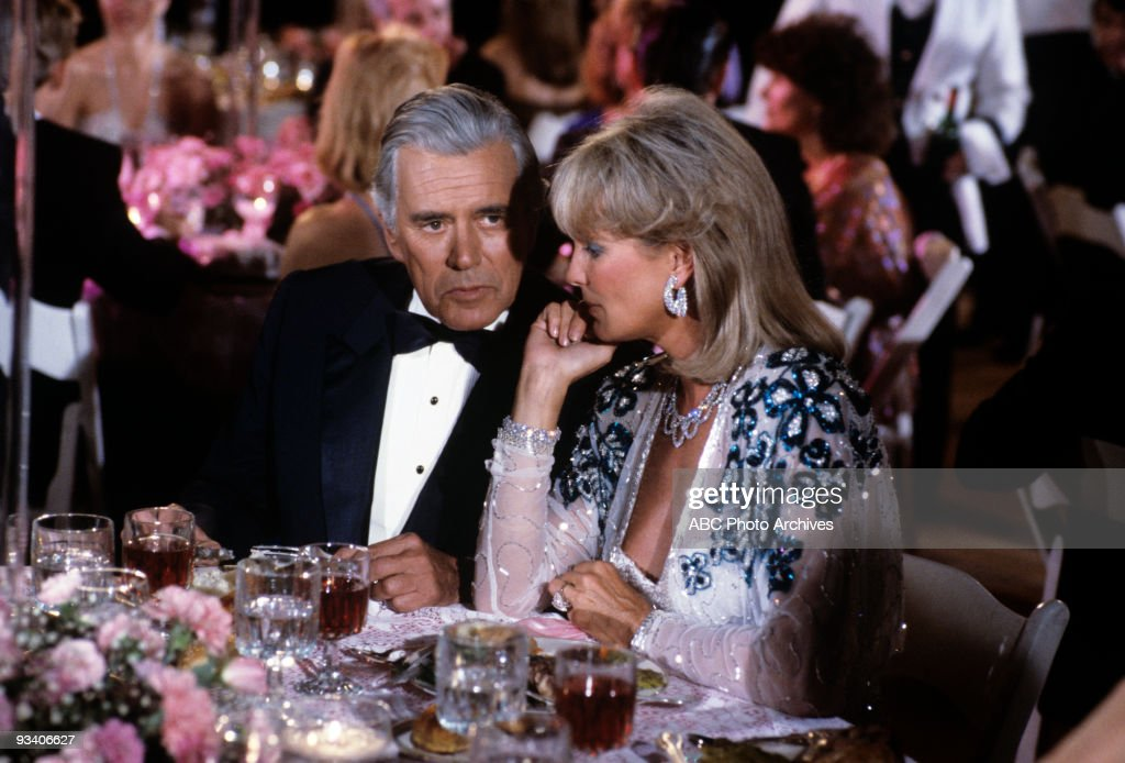 DYNASTY - 'Carousel' 12/21/83 <a gi-track='captionPersonalityLinkClicked' href=/galleries/search?phrase=John+Forsythe&family=editorial&specificpeople=91238 ng-click='$event.stopPropagation()'>John Forsythe</a>, <a gi-track='captionPersonalityLinkClicked' href=/galleries/search?phrase=Linda+Evans&family=editorial&specificpeople=208930 ng-click='$event.stopPropagation()'>Linda Evans</a>