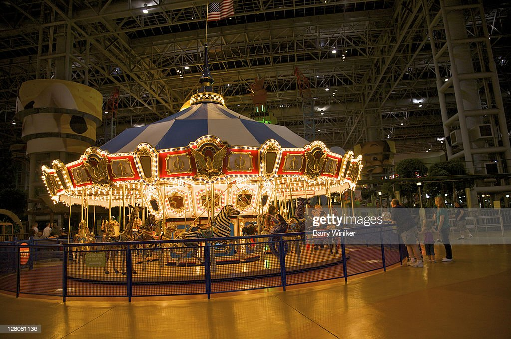 Carousel At Mall Of America The Largest Mall In The Usa Located In - Largest mall in usa