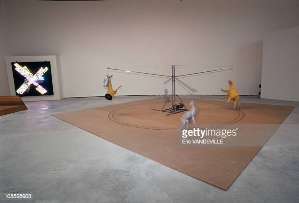 Carousel by Bruce Nauman in Bilbao Spain on October 15th 1997