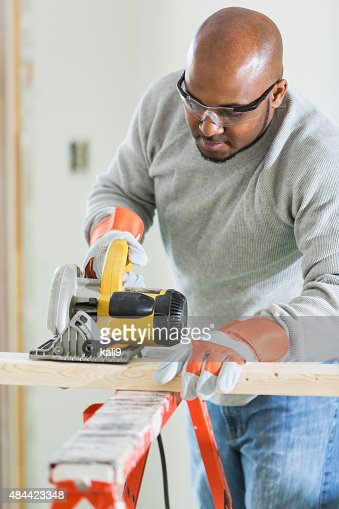 Carpentry Carpenter Woodworker Woodworking Wooden: African American Carpentary Stock Photos And Pictures