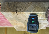Carpenter tools- Digital moisture meter, to measure wood humidity.