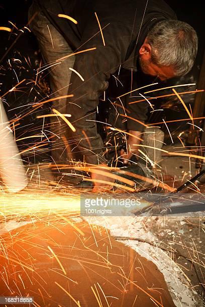 Carpenter working