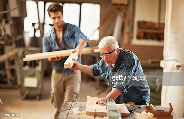 Carpenters at work