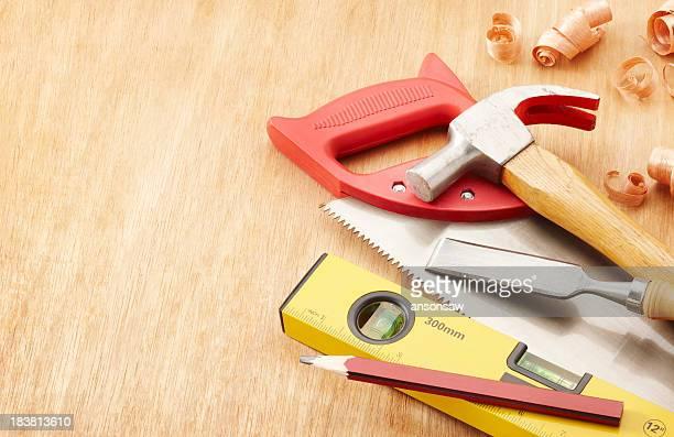 outils de menuiserie