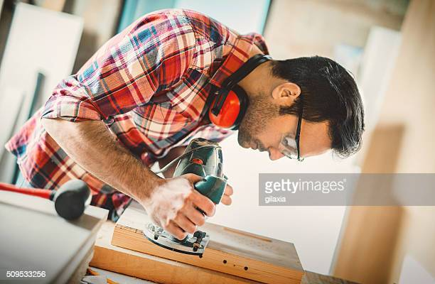 Carpentry workshop.