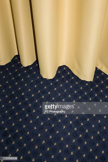 Carpet and curtains