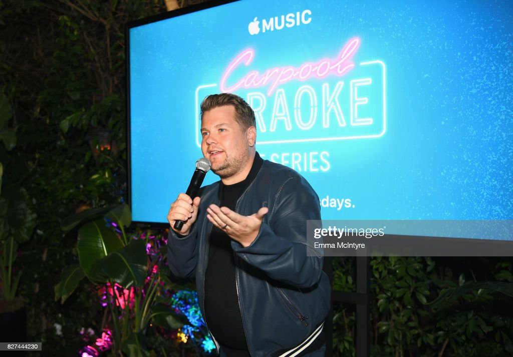 carpool karaoke series executive producer james corden speaks at apple music launch party carpool karaoke - Executive Producer Music