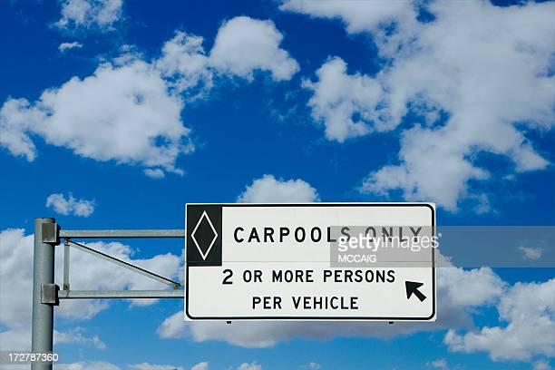 Panneau carpool