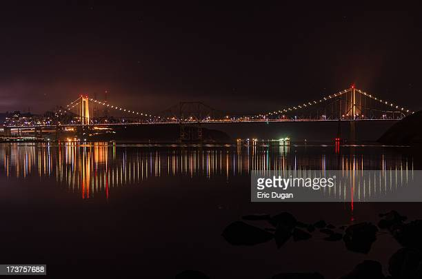 Carquinez Bridge Reflections
