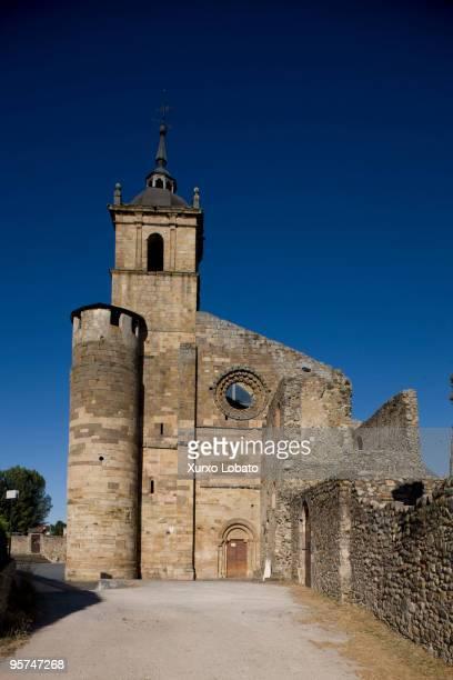 Carracedo monastery in the way of saint James in Bierzo region of Castilla and Leon 13th July 2009