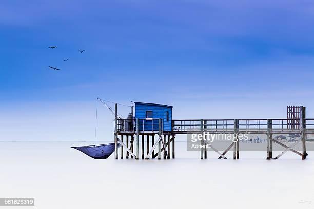 Carrelet de bord de mer