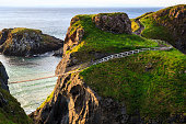 The old bridge over 200 years which can operate nowadays, situate in Northern Ireland.